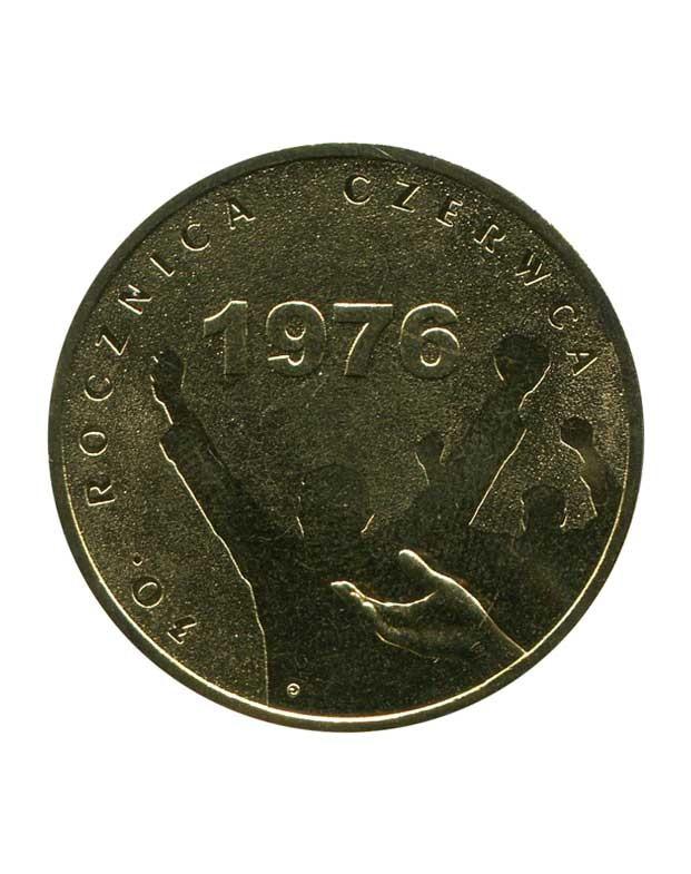 2 злотых 30 летие июня 1976 коллекция монет 1988г