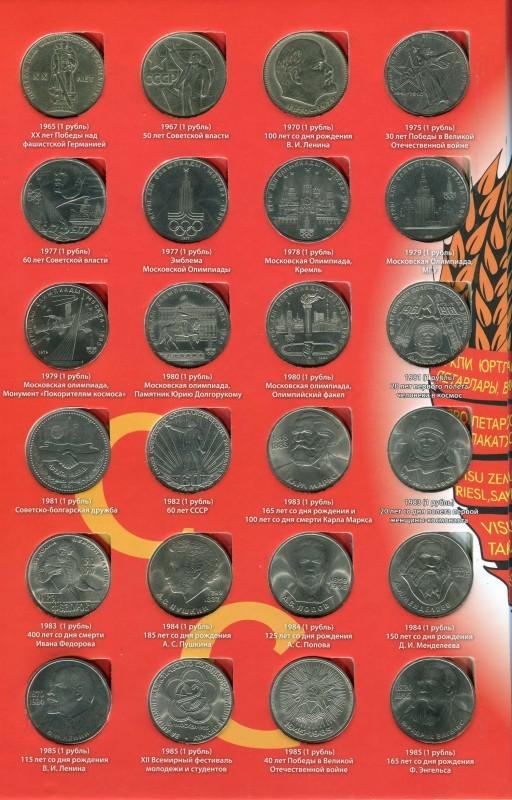 захотелось несколько фото советских юбилейных рублей таблица фото видео этой